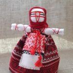 Набір для виготовлення оберега 'Берегиня' червона. | bereginya_krasnaya