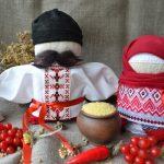 Набор для изготовления оберегов 'Богач и Крупеничка' красные. | bogach_krupenichka_krasnie
