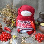Набор для изготовления оберега 'Крупеничка' красная. | krupenichka_krasnaya