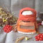 Набір для виготовлення оберега 'Крупеничка' помаранчева. | krupenichka_orang