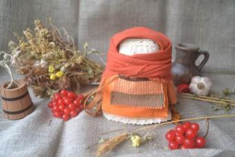 Набор для изготовления оберега 'Крупеничка' оранжевая. | krupenichka_orang