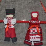 Набор для изготовления оберега 'Неразлучники' красные. | nerazluchniky_krasnie