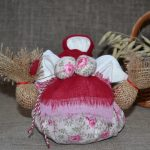Набор для изготовления оберега 'Травница' розовая. | travniza_rozovaya