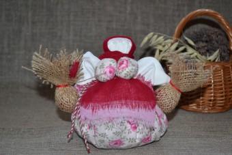 Набір для виготовлення оберега 'Травниця' рожева. | travniza_rozovaya